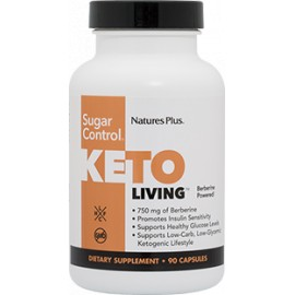 KETO LIVING SUGAR CONTROL 90 caps.