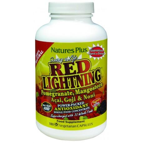 RED LIGHTNING.180 caps.