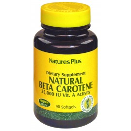 NATURAL BETA CAROTENE. 90 perlas