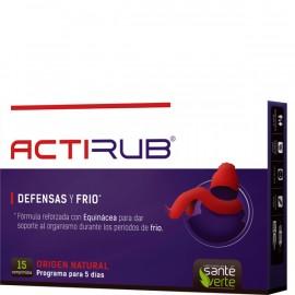ACTIRUB 15 comprimidos