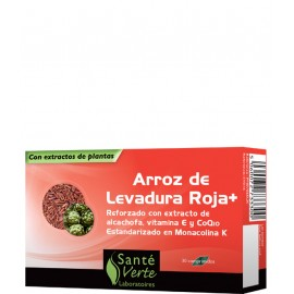(DISC)SANTE ARROZ ROJO+ COQ10 60 comp.