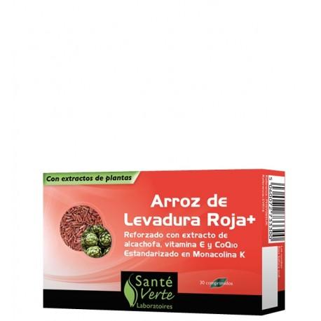 SANTE ARROZ ROJO+ COQ10 30 comp.