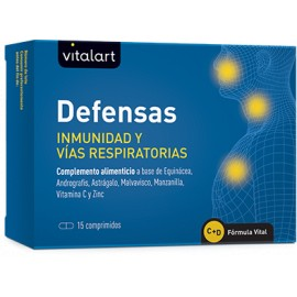 VITALART DEFENSAS INMUNIDAD 15 comprimidos