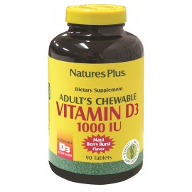 VITAMINA D3 1000 IU 90 comp masticables