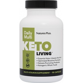 KETO LIVING DAILY MULTI 90 caps.