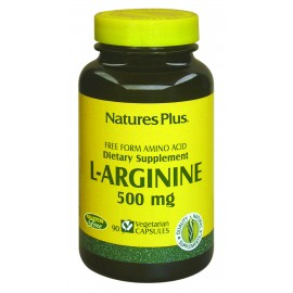 L-ARGININA 500mg. 90 caps.