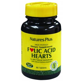 FOLIC ACID HEARTS. 90 comp