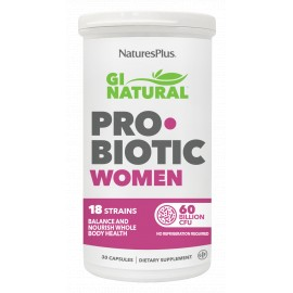 GI NATURAL PROBIOTIC WOMEN 30 caps.