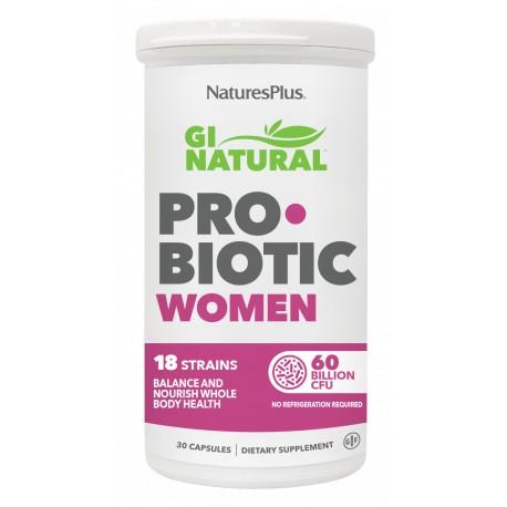 GI NATURAL PROBIOTIC WOMEN 30 caps.