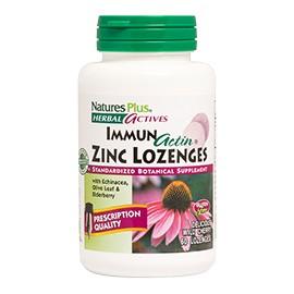 IMMUNACTIN ZINC LOZENGES 60 comp