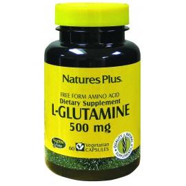 L-GLUTAMINA 500 mg. 60 caps.