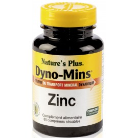 DYNO-MINS ZINC 15mg.60 comp