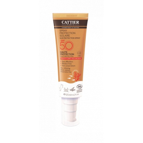 SPRAY PROTECCION SOLAR  SPF50 CARA&CUERPO