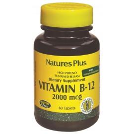 VITAMINA B12 2000 mcg 60 comp